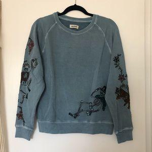 Zadig & Voltaire Skeleton Circus Sweatshirt
